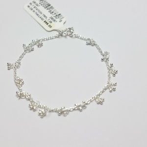 Giani Bernini  7″ Dangle Bracelet in Sterling Silv
